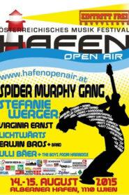 Spider Murphy Gang Konzert in Hafen Open Air in 2015 2015