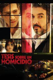 Tesis sobre un homicidio 2013