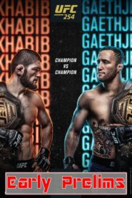 UFC 254: Khabib vs. Gaethje – Early Prelims 2020